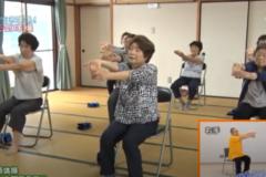 寒川中部集会所 貯筋体操④