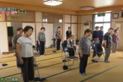 寒川中部集会所 しこちゅ~体操