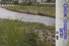 折々のうた「俳句 川」