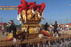 街かど百景:三島秋祭り2018 寒川・豊岡太鼓台統一寄