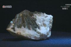 愛石図鑑  vol.9「含銅硫化鉄鉱(がんどうりゅうかてっこう)・緑簾石(りょくれんせき)」