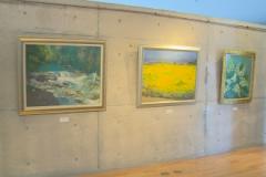 美術館:第8回ピットゥーラの会油絵展