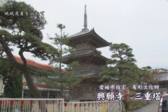 地域遺産:興願寺 三重塔