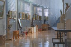 美術館:かわのえ高原ふるさと館講座生作品展