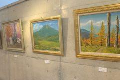 美術館:高原ふるさと館油絵講座作品展