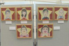 美術館:第18回まんが似顔絵展