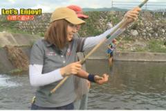 Let's enjoy!   vol.9「川釣り体験をしてみよう!」