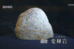 愛石図鑑 vol.14「変輝岩・スティルプノメレン斧石片岩」