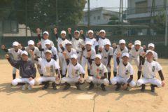 部活へGO! 川之江南・北中学校 野球部