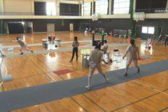 2019年度愛媛県高校総体 フェンシング競技開催