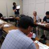 6月27日、四国中央テレビ4階でのスマホ教室の模様
