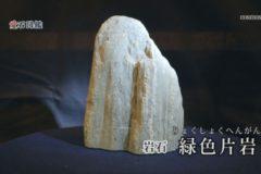 愛石図鑑 vol.13「緑色片岩・単斜輝石」