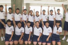 部活へGO!三島西中学校 女子卓球部