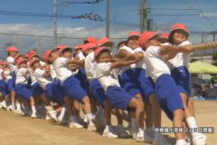 市内小学校で運動会開催