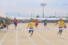 市内中学校で体育祭開催