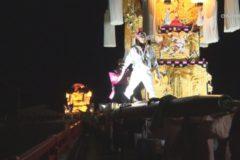 街かど:土居秋祭り2019 千足神社宮出し