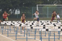 2019年度四国中央市中学校新人体育大会 陸上競技