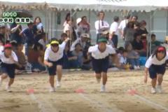 11.50m走(女子)2019年度 土居中学校体育祭