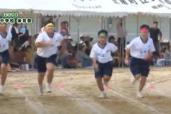 12.50m走(男子)2019年度 土居中学校体育祭