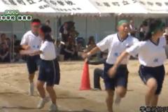 15.学級対抗リレー(1年選抜)2019年度 土居中学校体育祭