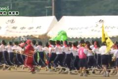 22.美少女戦士☆ムカデンジャー(3年女子)2019年度 土居中学校体育祭