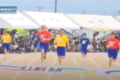 5.100m走(3・2・1年女子)2019年度 三島東中学校50周年記念体育祭