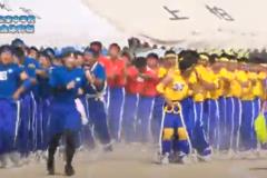 18.優勝できるか不安 百足動きます(3年男子)2019年度 三島東中学校50周年記念体育祭
