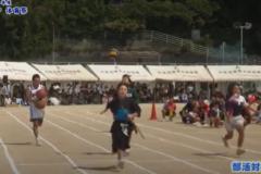 16.部活対抗リレー(各部選抜)2019年度 川之江北中学校体育祭