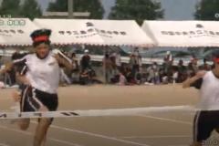 2.200m走(女子)2019年度 三島南中学校体育祭