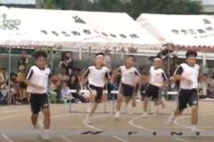 5.バラエティー走(男子)2019年度 三島南中学校体育祭