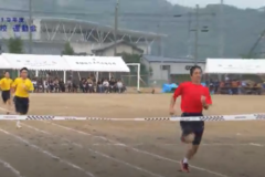 1.200m走(1年男子)2019年度 土居高校運動会