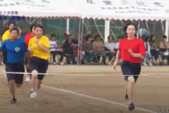 2.100m走(1年女子)2019年度 土居高校運動会
