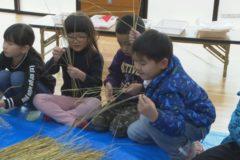 みしま児童センター しめ縄作り