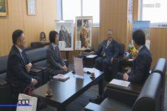 日経WOMAN ウーマン・オブ・ザ・イヤー受賞 石川賀代さんが市長を表敬訪問