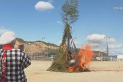 Eveぽけ:土居公民館どんど焼き