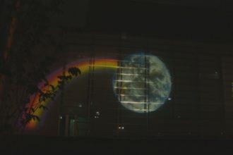 しこちゅ~ホール ライトアップ