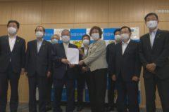 新型コロナウイルス対策の要望書を提出 市議会