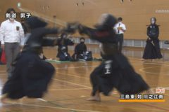 四国中央市中学校総合体育大会 軟式野球、バレー、サッカー、ソフトテニス女子、剣道