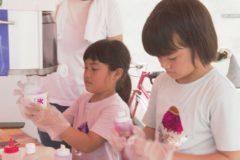 小学生によるかき氷屋さんが開店