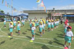 三島南幼稚園運動会