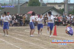 5.走り、走られ、抜き、抜かれ(3年団体) 2020年度三島東中学校体育祭