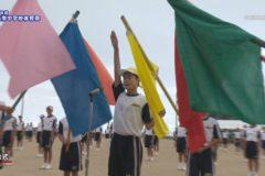 1.開会式・ラジオ体操 2020年度三島南中学校体育祭
