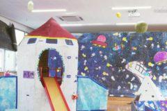 認定こども園三島幼稚園 廃材を使った立体作品を制作