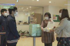 シトラスみんなの応援隊 石川ヘルスケアグループへシトラスリボンを贈る