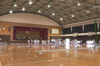 第75回 愛媛県高等学校総合体育大会 フェンシング競技