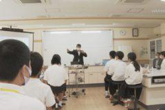 新宮小中学校 公開授業 「新たな紙製品の可能性」