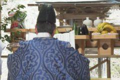 愛媛県無形民族文化財「鐘おどり」神事