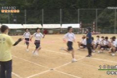3.100m走(中学生) 2021年度新宮大運動会