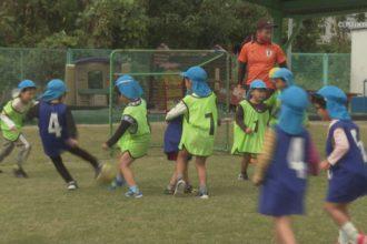 土居東幼稚園 サッカー教室